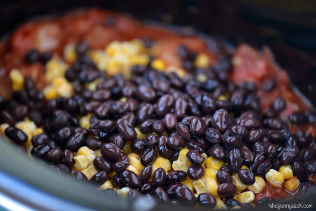 add black beans to slow cooker