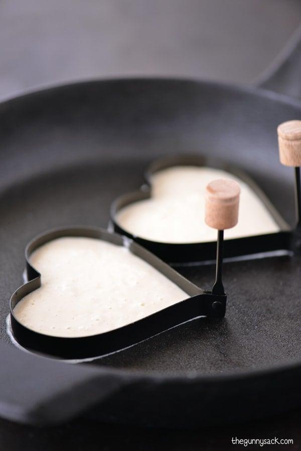 Heart Shaped Pancake Mold