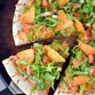 Chicken Taco Pizza Recipe