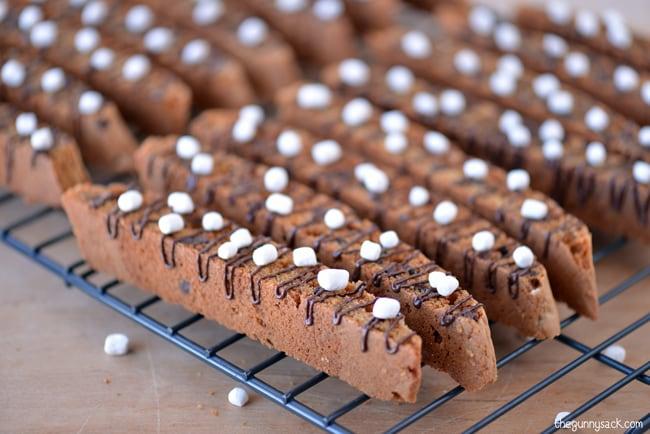 Marshmallow Chocolate Chip Biscotti