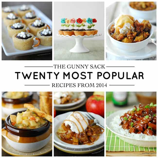 Most Popular Recipes 2014