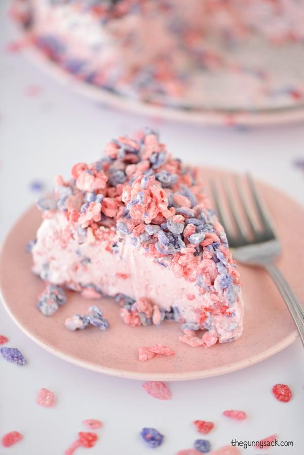 Pink Ice Cream Cake