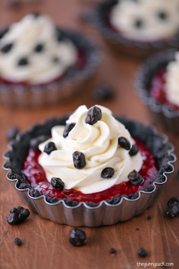 Raspberry Cheesecake Tartlets