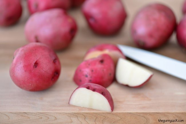 Baby Red Potatoes #CampbellsSauces