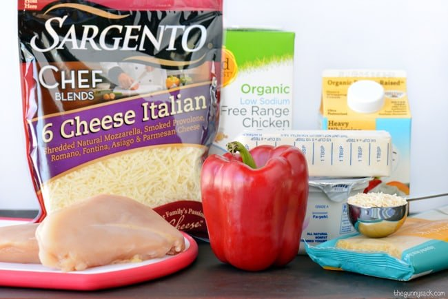 Chicken Tetrazzini Ingredients