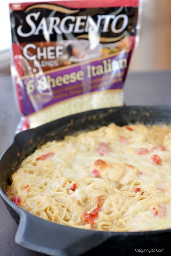 Chicken Tetrazzini Cooked