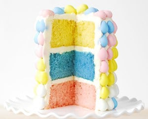 Easter Cake Cadbury Mini Eggs Layer Cake
