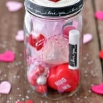 I Love You Mason Jar Gift for Valentine's Day