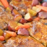 Oven Roasted Pork Chops #CampbellsSauces