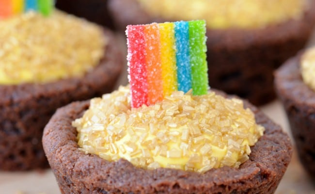 Pot of Gold Cookie Cups Recipe