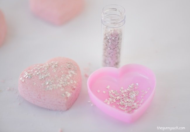 Silver Star Sprinkles Bath Bombs