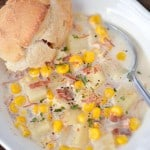 Slow Cooker Corn Chowder With Ham