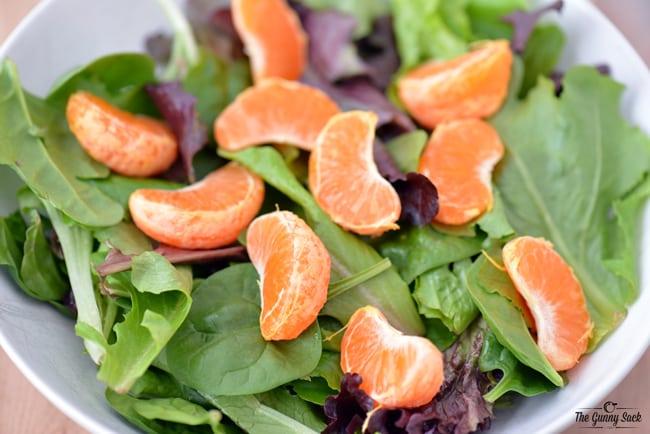 Clementine Salad | thegunnysack.com