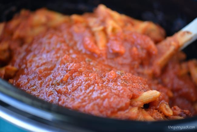 Crock Pot Ziti