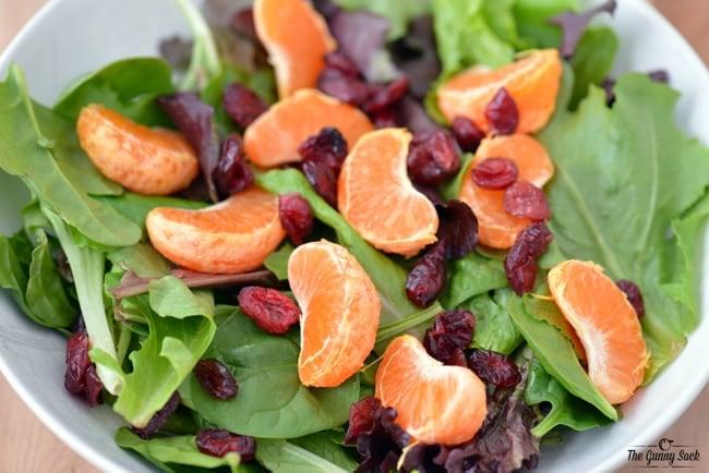 Dried Cranberry Salad | thegunnysack.com