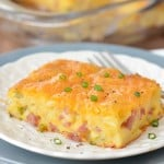 Ham and Potato Breakfast Casserole | thegunnysack.com