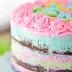Ice Cream Easter Cake