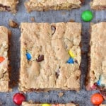 Monster Cookie Bars | thegunnysack.com