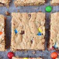 Monster Cookie Bars Recipe