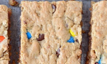 Monster Cookie Bars | thegunnysack.com