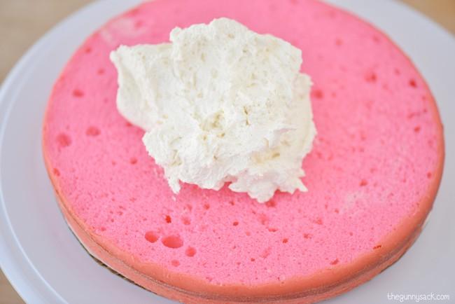 Pink Cake Layer