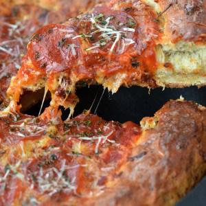 Skillet Pizza Recipe