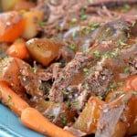 Slow Cooker Pot Roast | thegunnysack.com