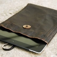 Leather iPad Case Tutorial