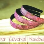 Paper Covered Headband