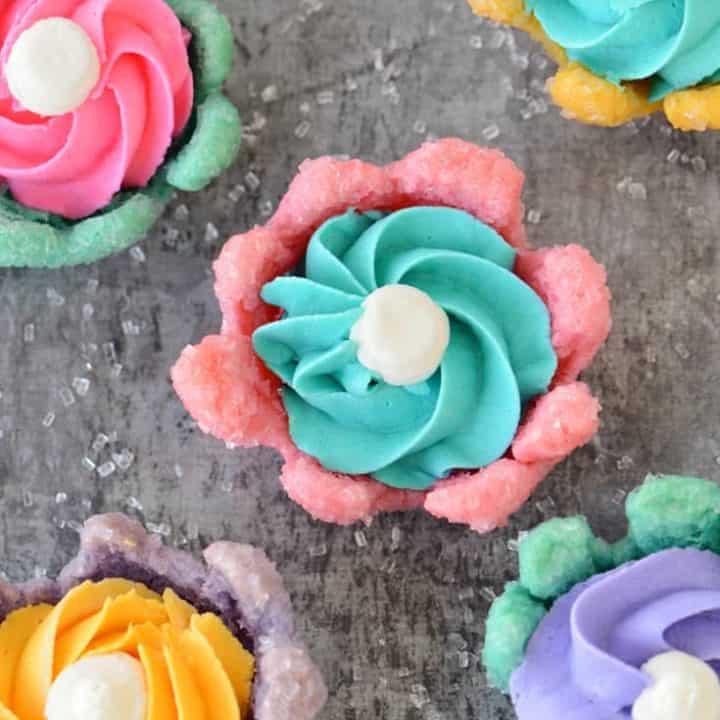 Bloomin' Flower Cookies Recipe | thegunnysack.com