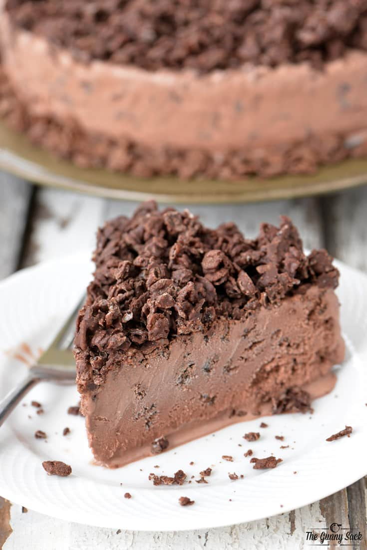 Chocolate Crunch Ice Cream Cake The Gunny Sack