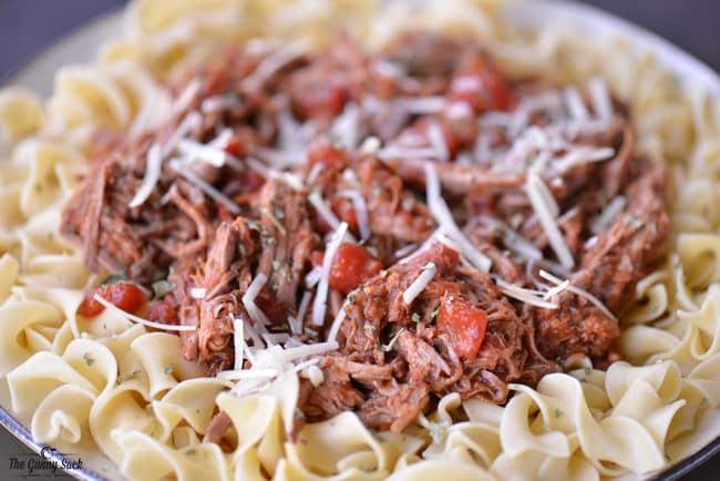 Italian Pot Roast | thegunnysack.com