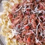 Slow Cooker Italian Roast Beef | thegunnysack.com