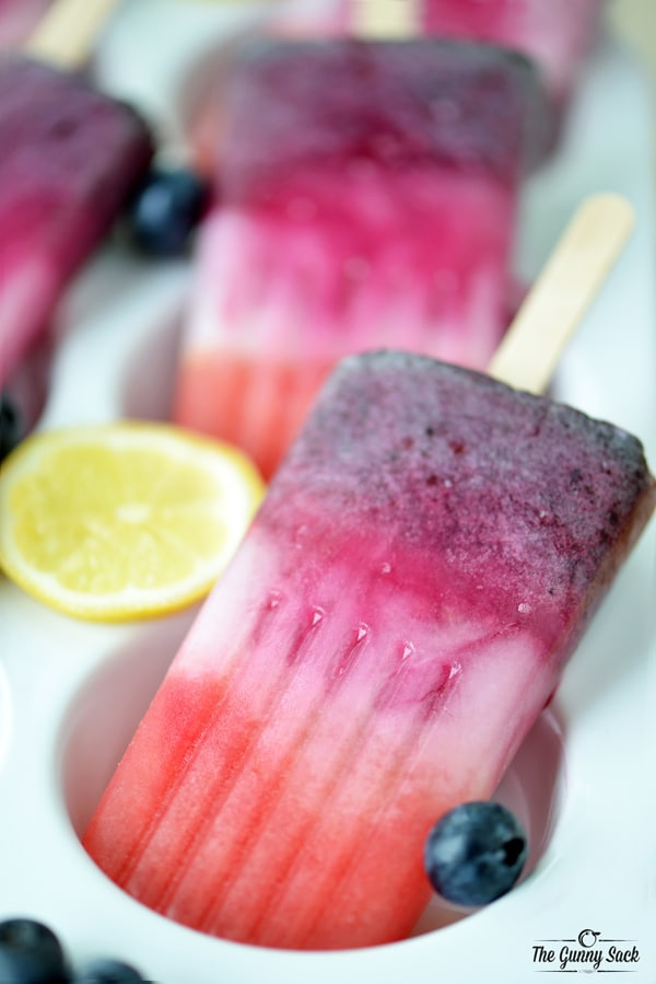 Berry Lemonade Pops
