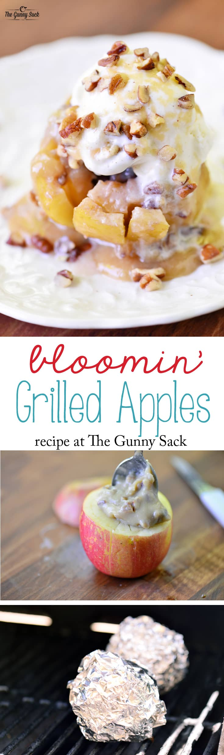 Bloomin' Grilled Apples Recipe | The Gunny Sack