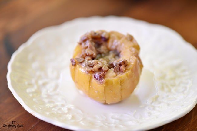 Maple Pecan Grilled Apples | The Gunny Sack