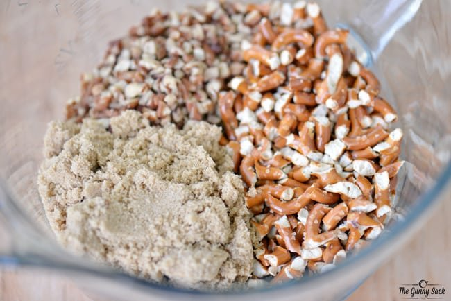Pretzel Salad Mixture