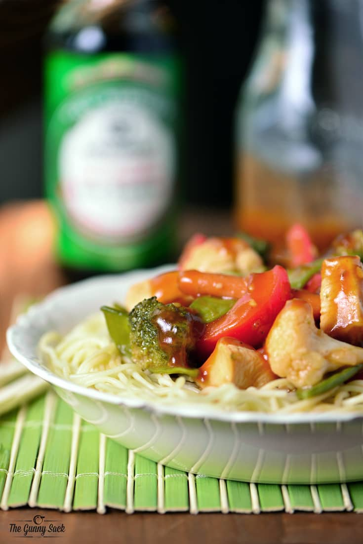 Chicken Stir Fry Recipe | thegunnysack.com