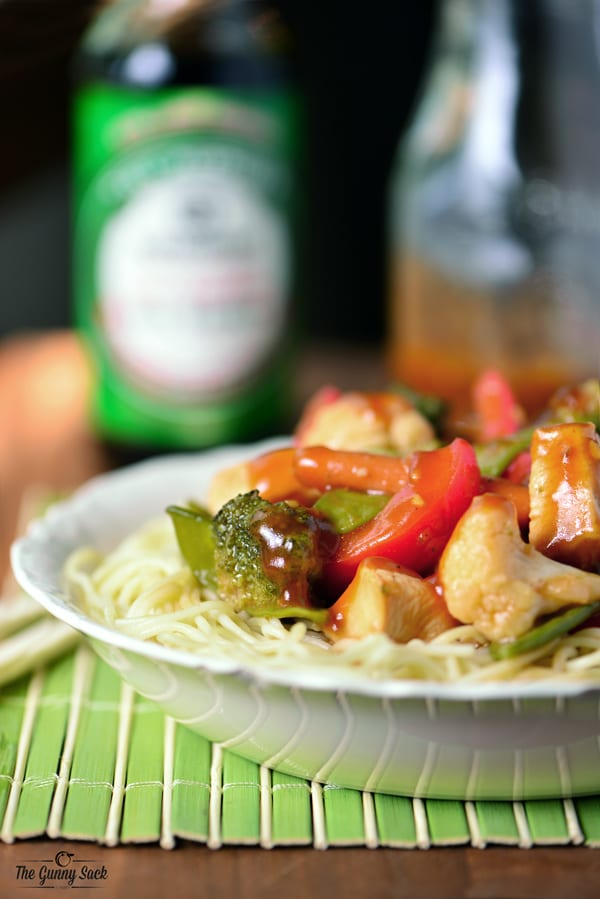 Chicken Vegetable Stir Fry Recipe | thegunnysack.com