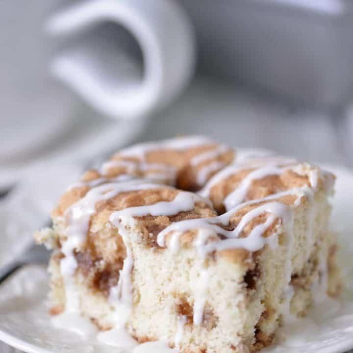 Cinnamon Coffee Cake Recipe | thegunnysack.com