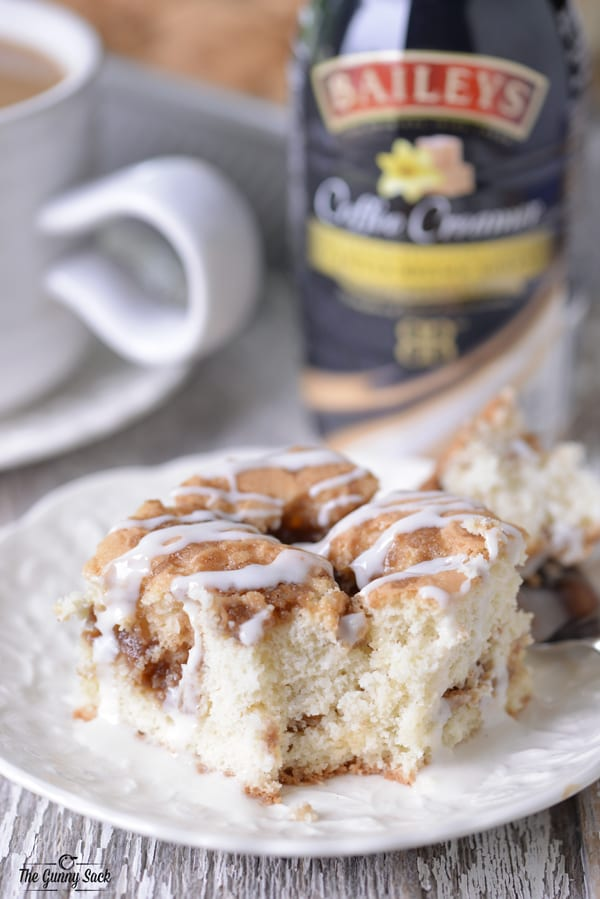 Cinnamon Coffee Cake slice