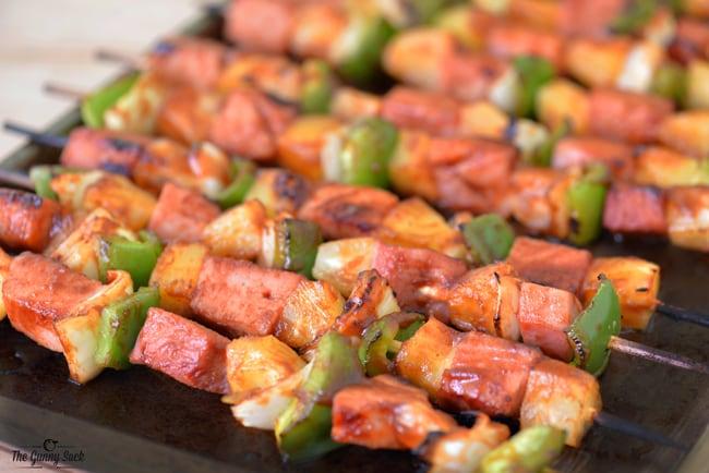 Grilled Hawaiian Kabobs | thegunnysack.com