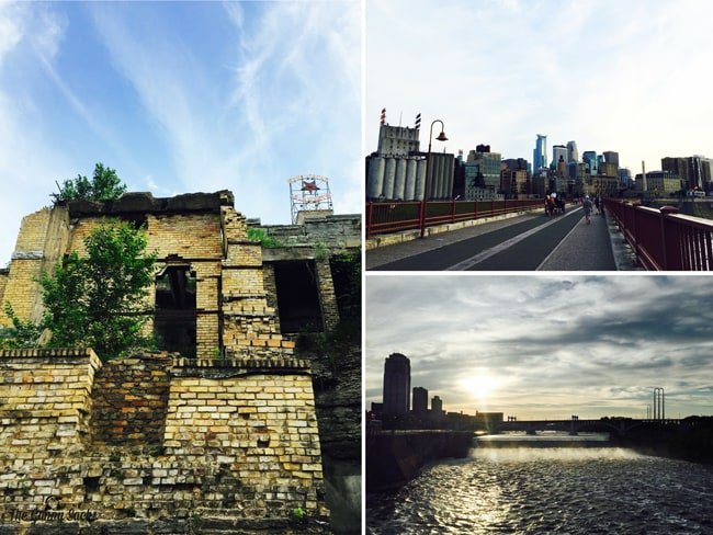 Mill Ruins Park and Stone Arch Bridge in Minneapolis, Minnesota | thegunnysack.com