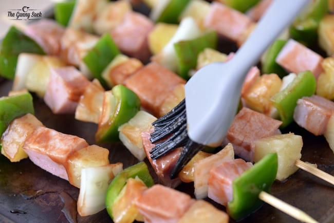 Brush with Sweet and Spicy Grilling Sauce