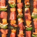 Sweet and Spicy Hawaiian Kabobs | thegunnysack.com