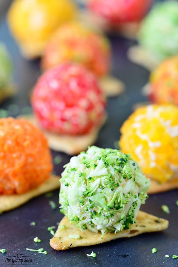 Vegetable Cheese Balls | thegunnysack.com
