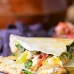 Chicken Club Quesadilla | thegunnysack.com