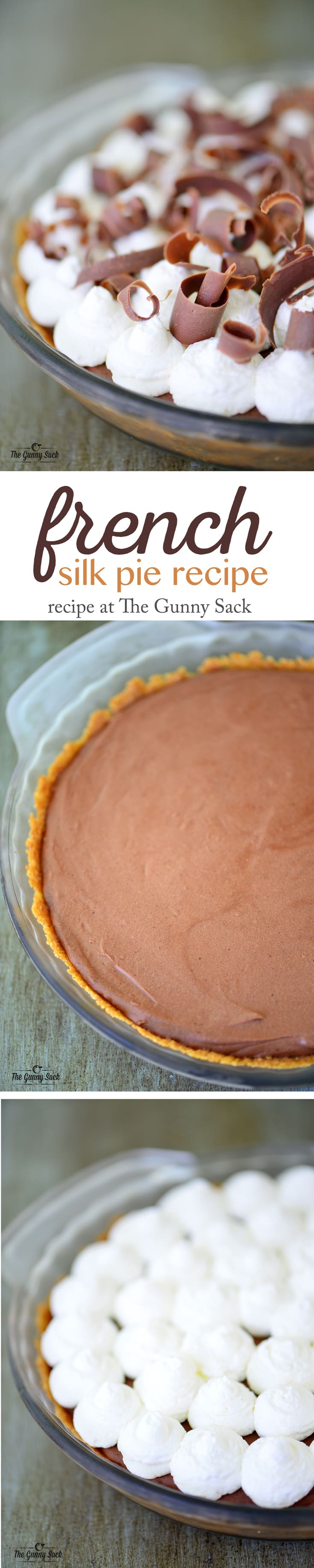 French Silk Pie Recipe Made Without Eggs | thegunnysack.com