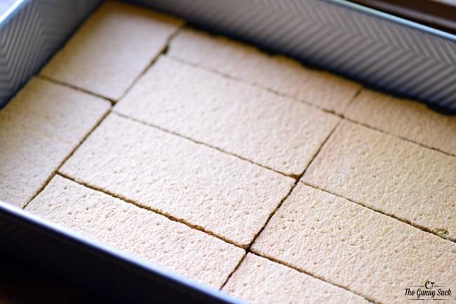 Graham Crackers Layer | thegunnysack.com