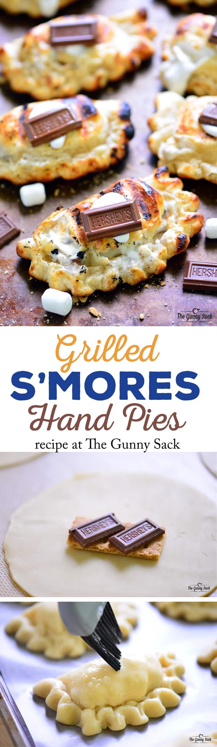 Grilled S'mores Hand Pies Recipe | thegunnysack.com
